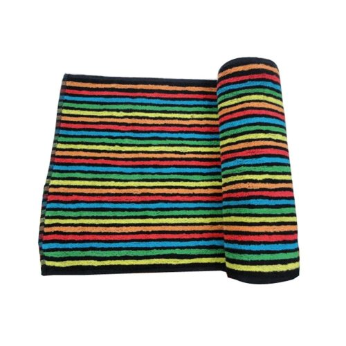 Lovely Lightweight Absorbent Hip-hop Sport Towels Yoga Towels Colored Stripes