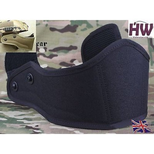 Airsoft Core Ops Mich Af  Helmet Front Guard Protector Black Swat