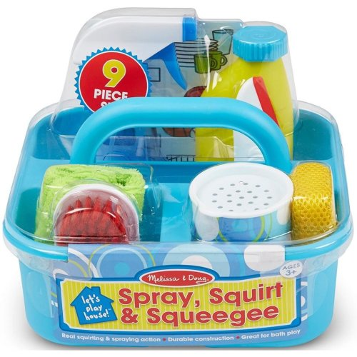 Melissa & Doug Spray, Squirt & Squeegie Set