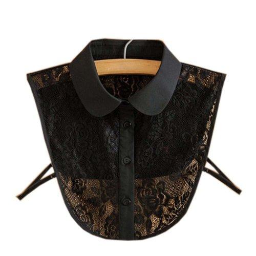 Trendy Detachable Lace Collar Fake Collar All-match Fake Half Shirt for Women, #05