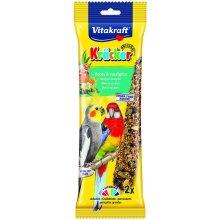 Vitakraft Australian Cockatiel Stick Honey 180g (2pk 2) (Pack of 5)