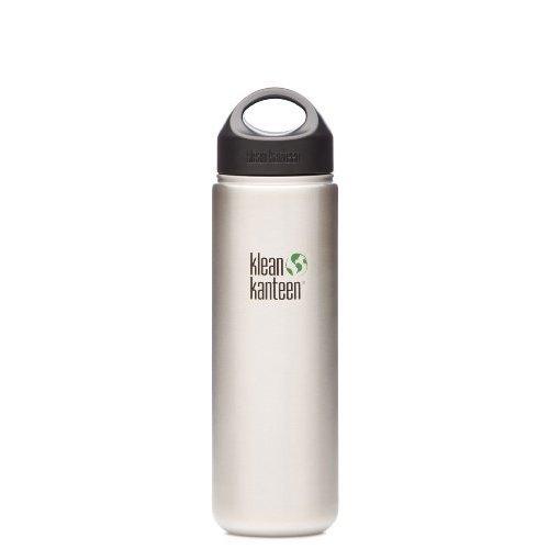 Klean Kanteen Wide Mouth Stainless Steel Water Bottle (27-Ounce)