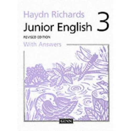 Junior English Book 3 with Answers