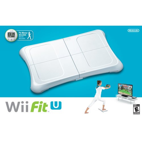 Wii Fit U with Wii Balance Board and Fit Meter-Nla