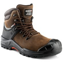 Buckler NKZ102BR Nubuckz Non-metallic Dealer Boots Brown (Sizes 6-13)