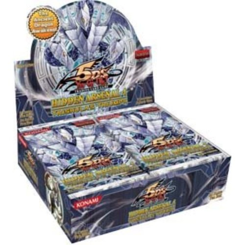 YuGiOh 5Ds Hidden Arsenal 4 Trishulas Triumph Booster Box 24 Packs