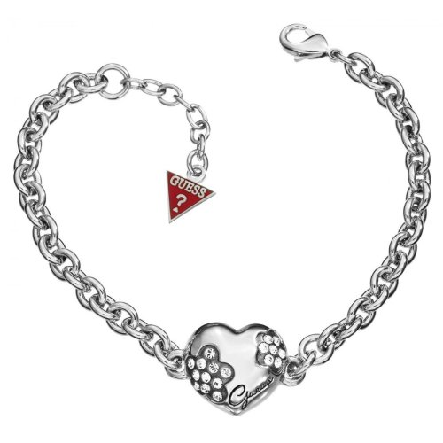 Guess Mini Flower Heart Bracelet