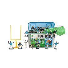 Kaskey Kids Football Guys Action Figure, Navy/Gray