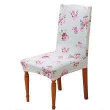 Home&Office Antifouling Chair Cover Hotel Chair Set Elastic Chair Decor-A17
