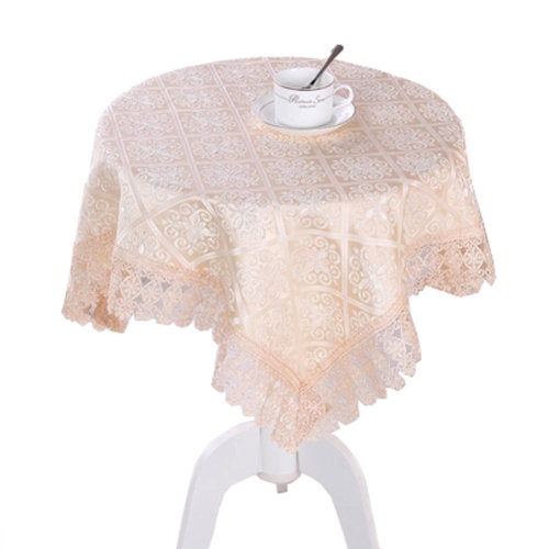 39*39 Inch Multi-Purpose Square/ Round Table Cloth Cover Tea Table Cloth, N