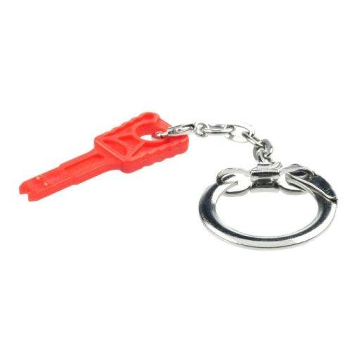 Lindy 45086 Flat key Orange cable lock