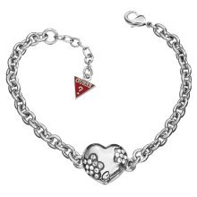 GUESS Mini Flower Heart Bracelet UBB11212