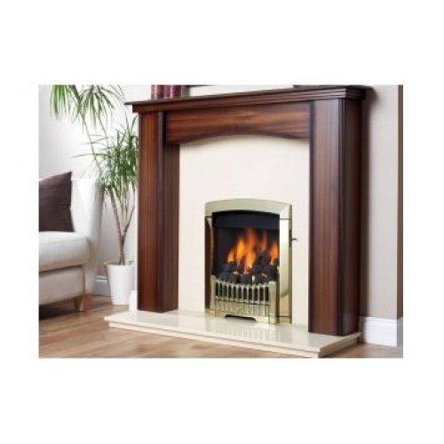 Designer Fire - Flavel FDCN45SN Brass Rhapsody Gas - SC