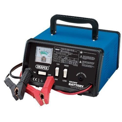 10.5a 12v/24v Battery Charger - Draper 103a 20493 1224v -  draper battery charger 103a 20493 1224v