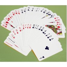 Two packs of standard playing cards 00815