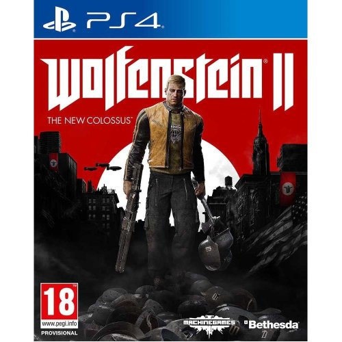 Wolfenstein II The New Colossus - Video Game - PS4