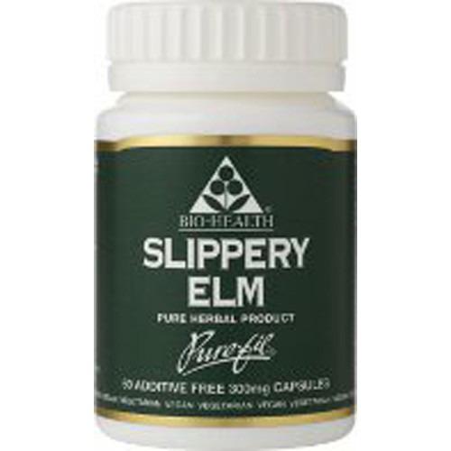 Bio Health Slippery Elm  120 Capsules