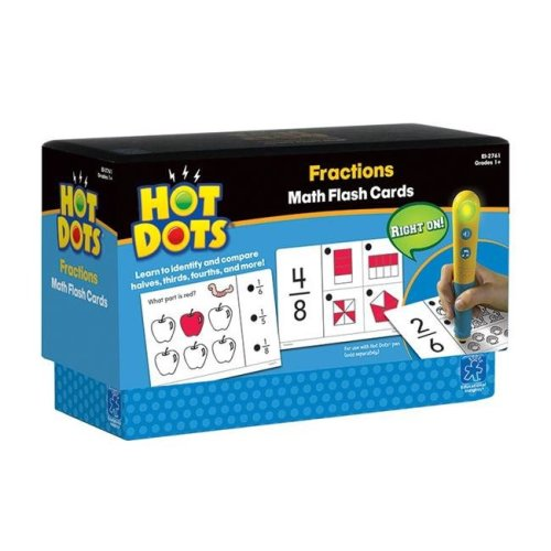 Learning Resources EI-2761BN 3 Each Hot Dots Flash Cards