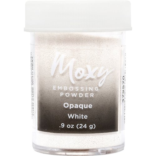 Moxy Opaque Finish Embossing Powder 1oz-White