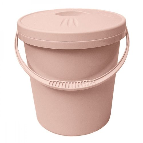 Junior Joy 16L Nappy Pail Bin with Lid Hygienic Storage Disposal Solution - Pink
