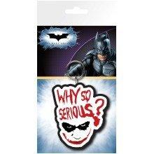 Batman (the Dark Knight) Joker Serious Keyring