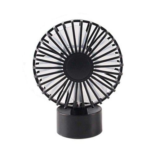 Fashion Simple Design USB Fans Portable Fan Desk Fan for Office, Black
