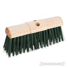 "Silverline Broom Pvc Saddleback Raised Centre 330mm (13"") - 13 598529 -  broom pvc 13 silverline 330mm saddleback raised centre 598529"