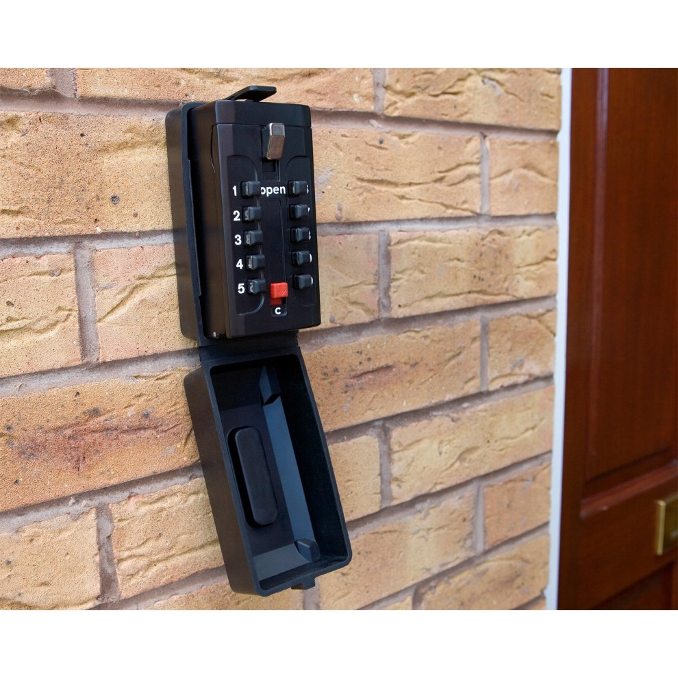 Defender Wall Mounted Key Safe Push Button Combination