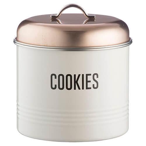 Typhoon Vintage Copper Cookie Bicuit Storage Tin