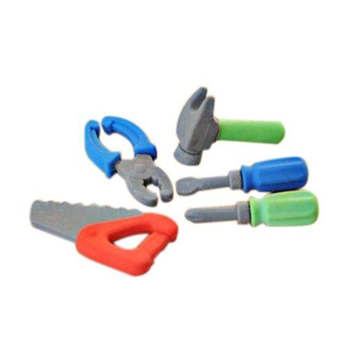 3 Sets Of Creative Cute Cartoon Erasers Universal Tools Modeling