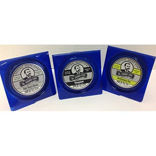 Col Conk All Natural Shave Soap 225 Ounces (Variety 3 Pack)