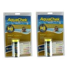 2x AquaChek Spa 7 in 1 Test Strips - Hot Tub and Spa Water Testing Strips
