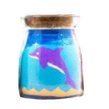 [Purple Dolphin] Romantic Gift Art Sand Scenery Decor