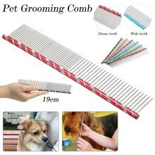 Pet Dog Grooming Comb for Yorkie Grooming Comb For Shaggy Dogs Barber Grooming