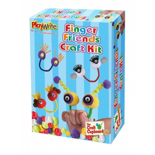 12 Make Your Own Finger Friends Craft Kits