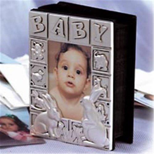Godinger 4 in. x 6 in. Baby Album Satin