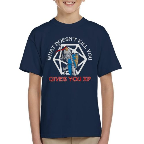 What Doesnt Kill You Gives You XP Kid's T-Shirt