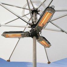 Nova 2000w Electric Outdoor Patio 3-Pronged Parasol Heater