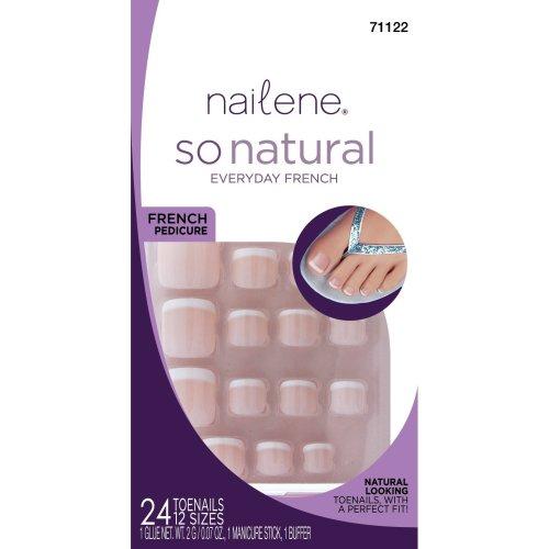 Nailene So Natural Toenails