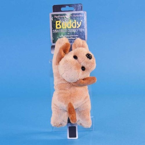 Dowman Golden Retriever Dog Belt Buddy Soft Toy 22cm