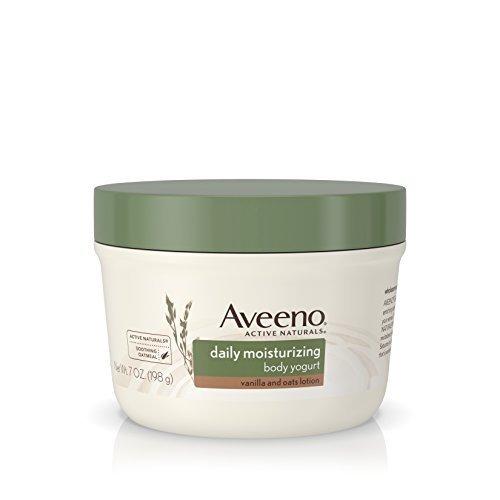 Aveeno Active Naturals Daily Moisturizing Body Yogurt Moisturizer, Vanilla And Oats, 7oz