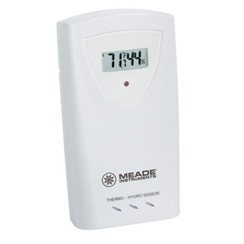 Meade Instruments Corporation MEA-TS33C-M 3 Channel Temp-Humidity Sensor LCD