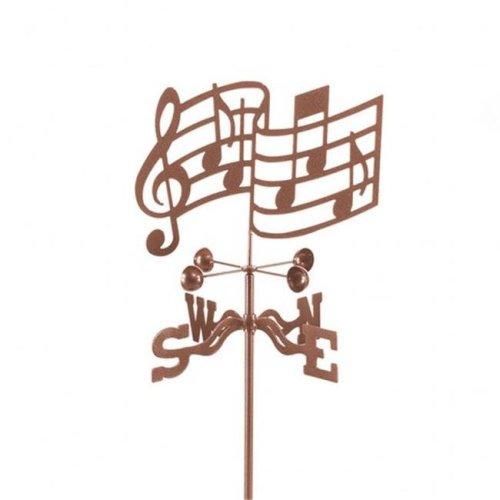 EZ Vane EZ1607-DK Musical Notes Weathervane with Deck Mount