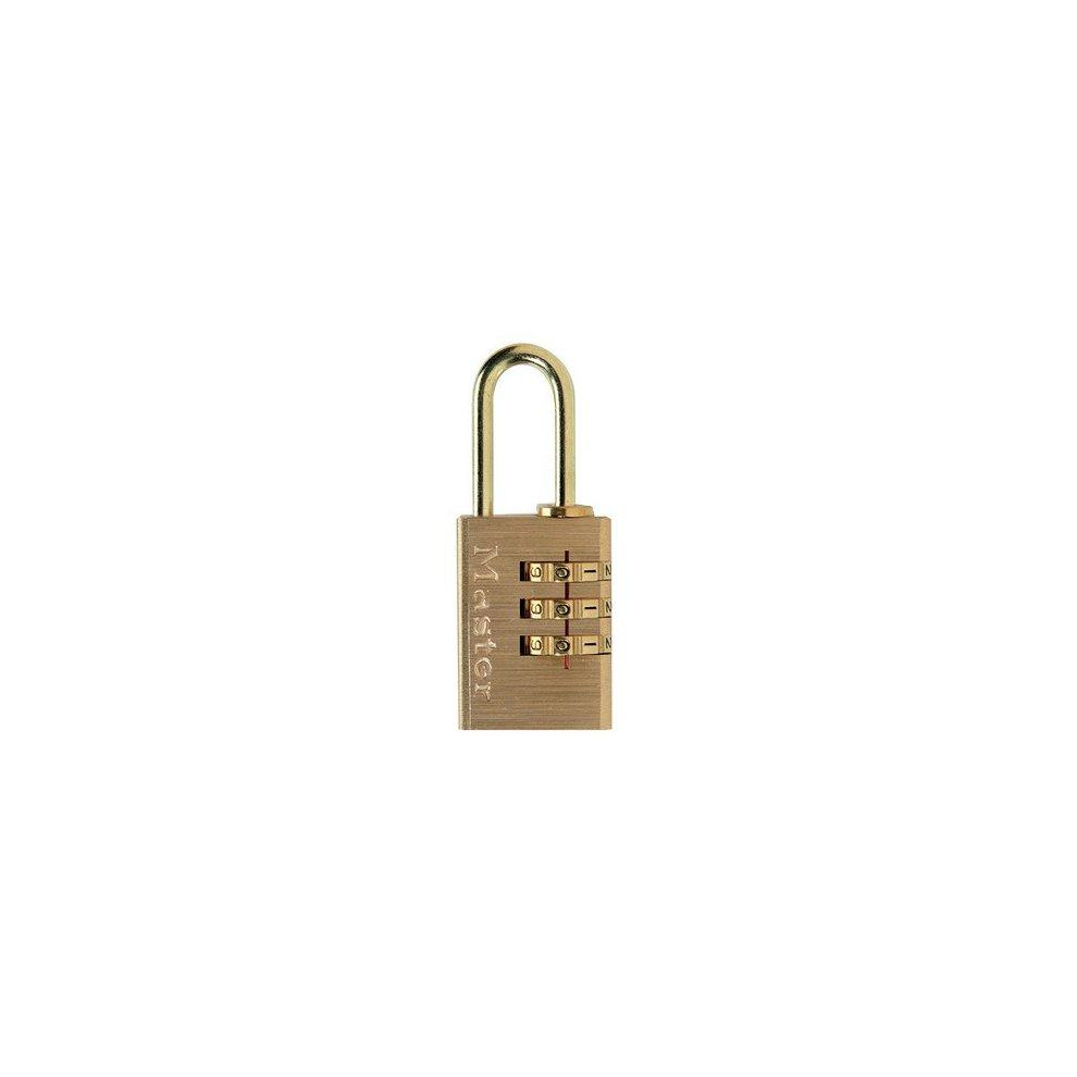 Master Lock 1550EURDCOL Cadenas mousqueton a combinaison couleur