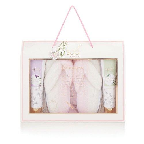 Style & Grace Spa Collection Botanique Flip Flop Slipper Set
