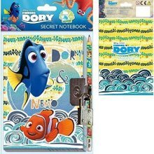 Finding Dory Journal Padlock - Secret Diary Pencil Nemo -  dory secret diary pencil finding journal padlock nemo