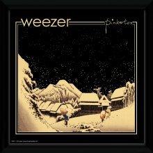 Weezer Pinkerton Framed Album Print