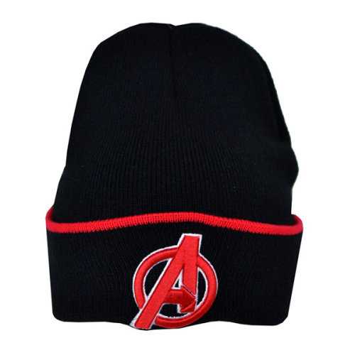 Avengers Tipping Cuff Knitted Hat - Junior Official Tu New Licensed Beanie -  avengers hat knitted junior official tu new licensed beanie marvel
