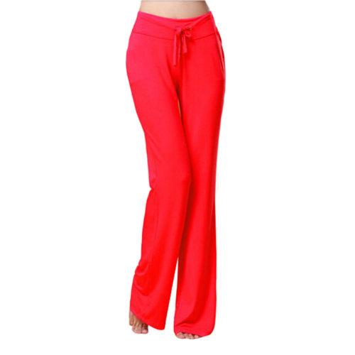 Women Women's Super Soft Modal Yoga Gym Workout Track Lounge Pants?