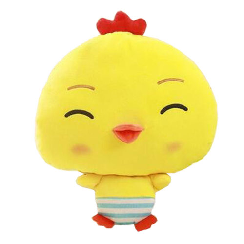 Lovely Chick Cartoon Warm Hands Pillow Soft Plush Doll Toy Throw Pillows Cushion, A